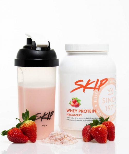 whey protein strawberry