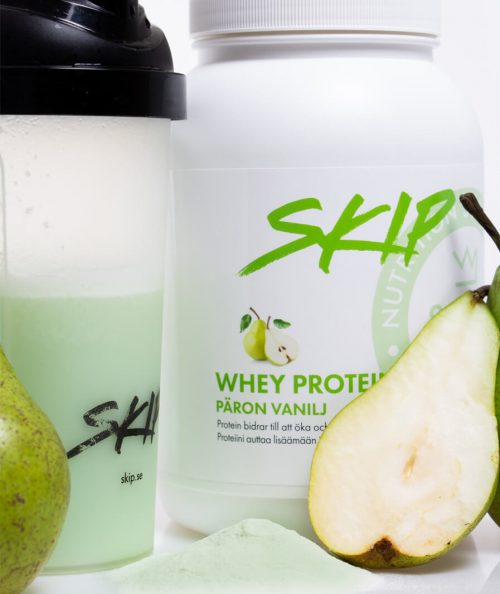 whey protein päron vanilj